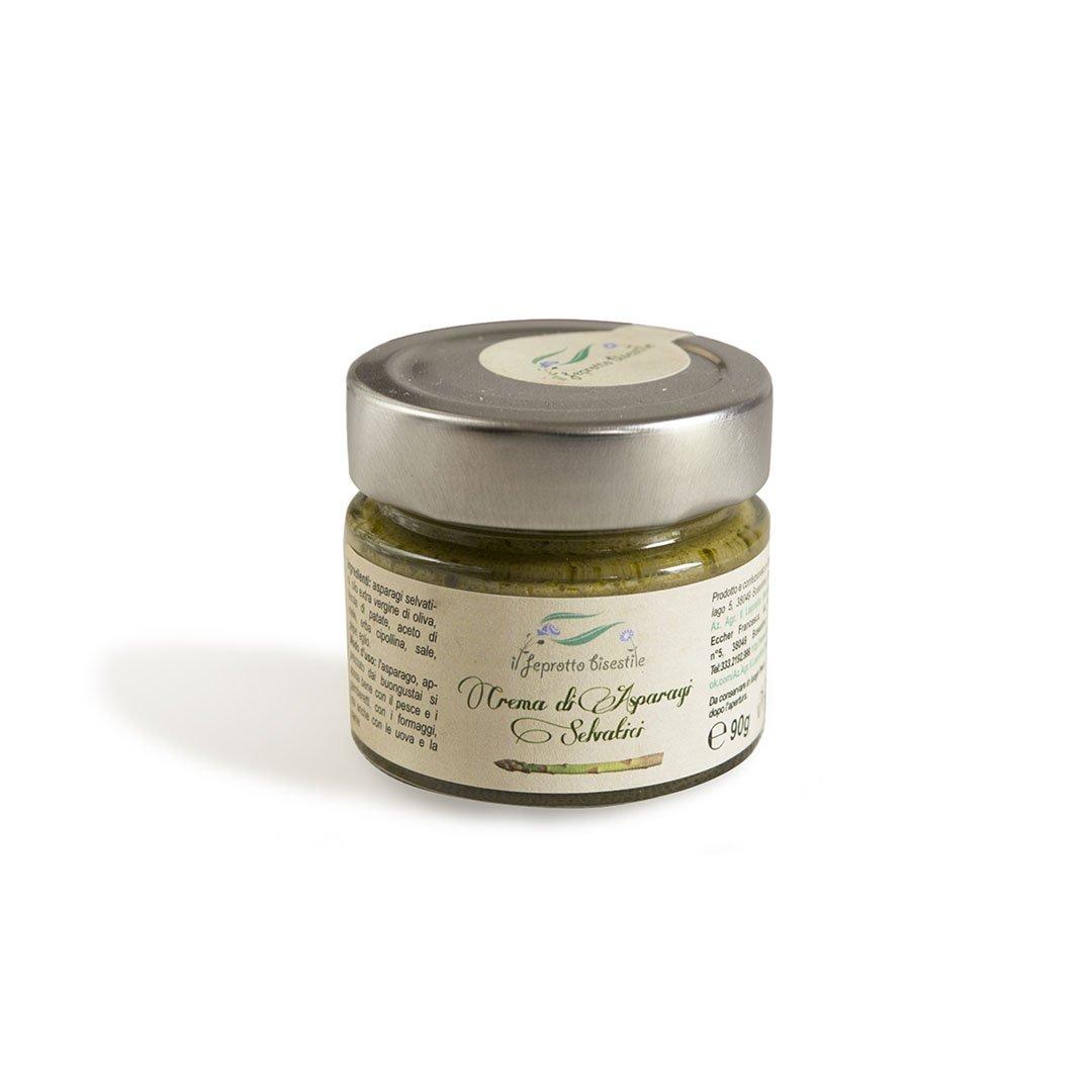 crema di asparagi selvatici
