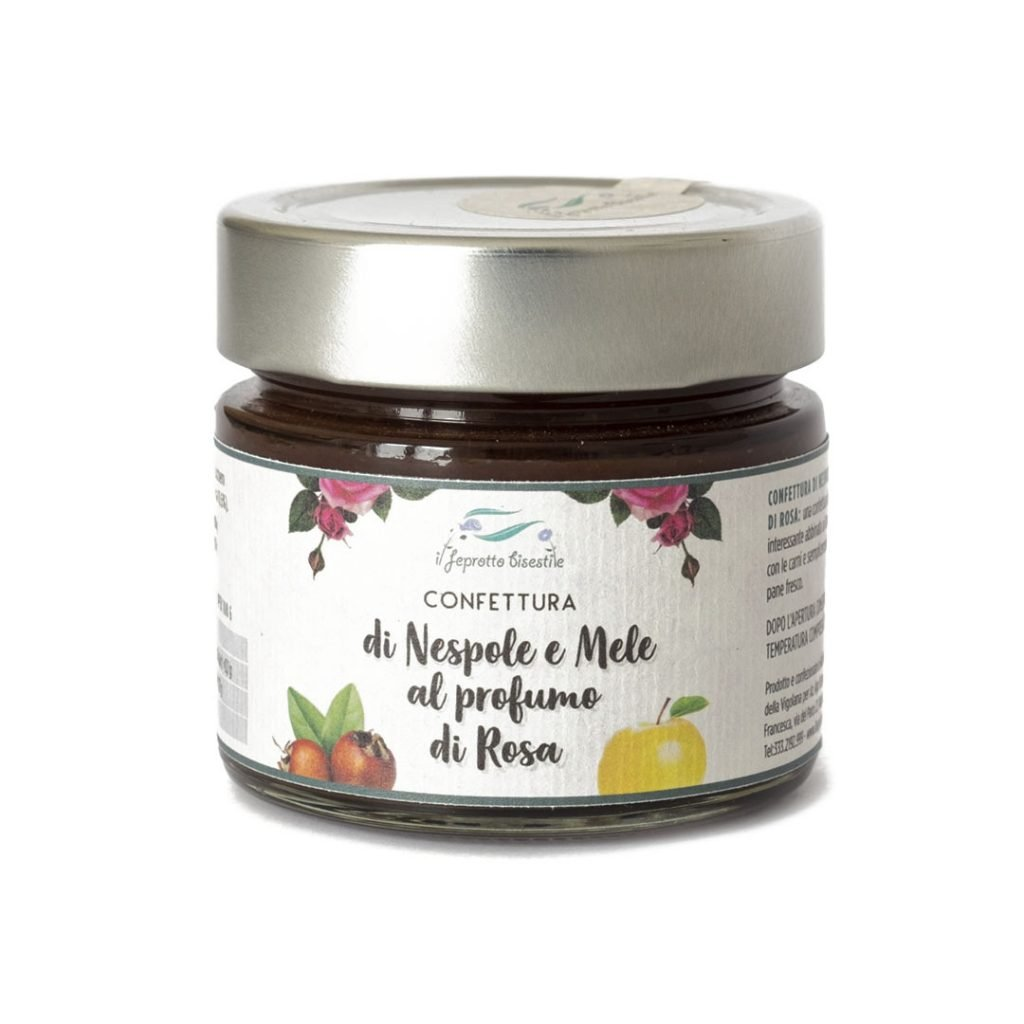 Confettura di Nespole e Mele al profumo di Rosa 5,00€