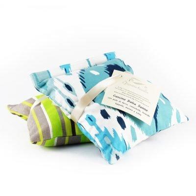 cuscino piccolo con erbe e fiori